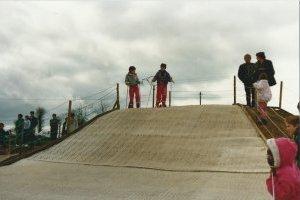 La piste de ski de Guingamp