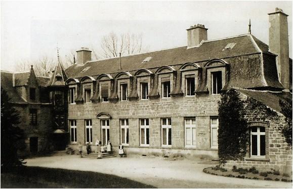 Manoir de Cadolan à Guingamp (n'existe plus)