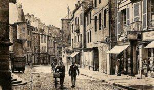 Rue Notre-Dame à Guingamp