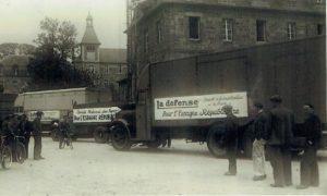 Accueil des réfugiés espagnols en 1937 à Guingamp