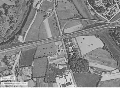 Le quartier en 1955